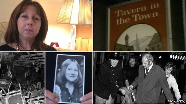 Photos of Pat Bentley and her friend Jane Davies who died in the Birmingham pub bombings in 1974