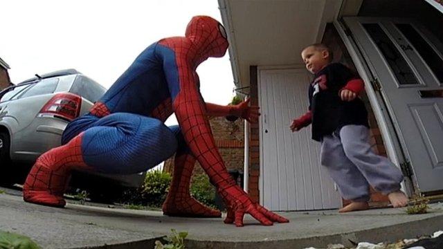 """""""Spider-Man"""" with Jaden Wilson"""
