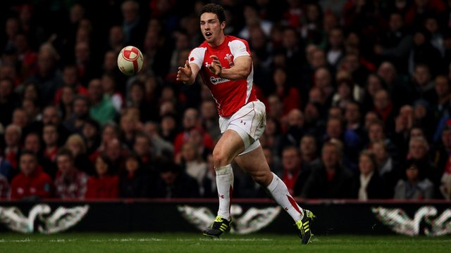 Wales centre George North