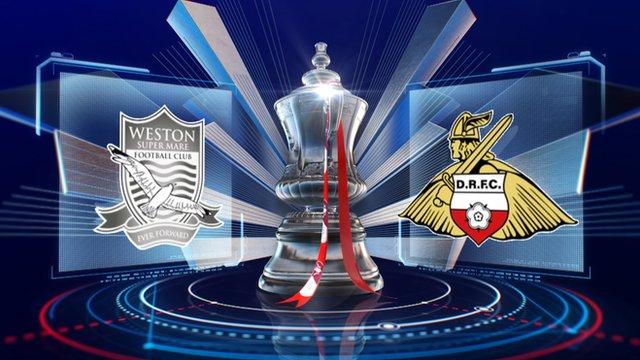 Weston-Super-Mare 1-4 Doncaster highlights