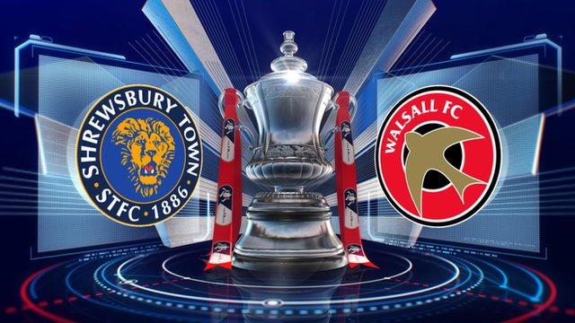 Shrewsbury 1-0 Walsall