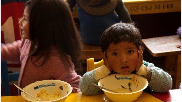 Children at the Centre for Children