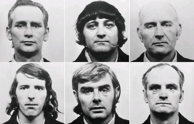 mugshots of six