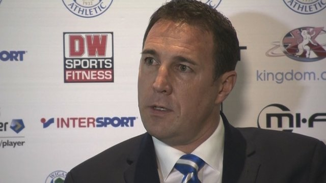 New Wigan manager Malky Mackay