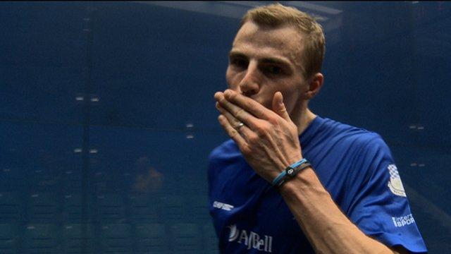 Squash World Championship: Nick Matthew beats Amr Shabana