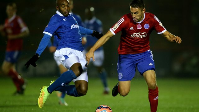 FA Cup 1st round replay: Aldershot 1-0 Portsmouth