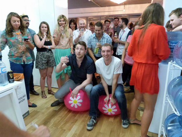 Fun and games at the7stars media agency