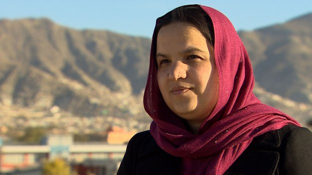 Women's rights campaigner Najia Nassim