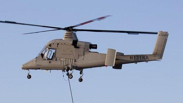K-Max UAV