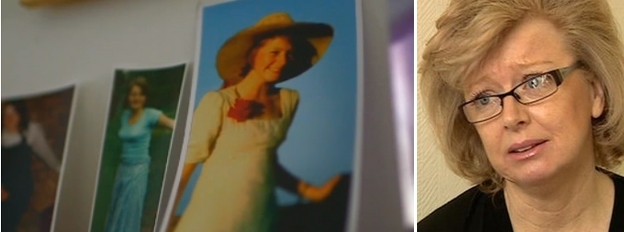 Maxine Hambleton and photos of her sister