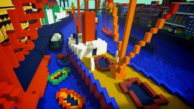 Minecraft Tate