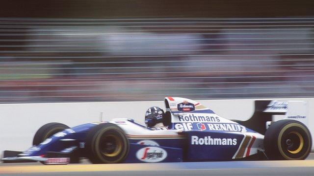 Damon Hill during the 1994 Australian Grand Prix
