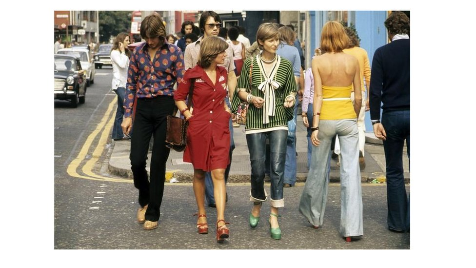 Dilland y 70au // Clothes in the 70s