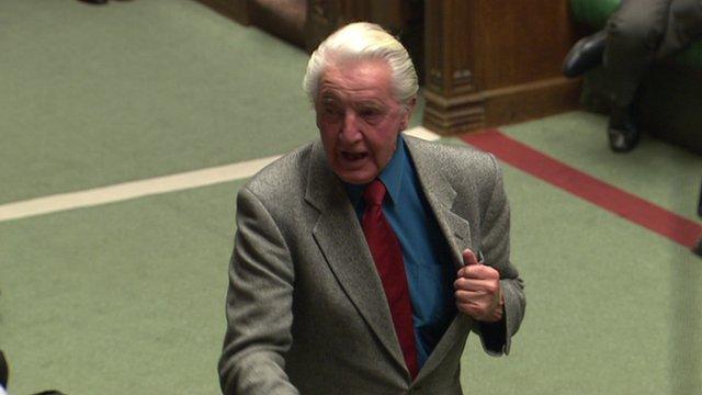 Labour MP Dennis Skinner