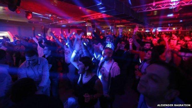 disco in Tbilisi