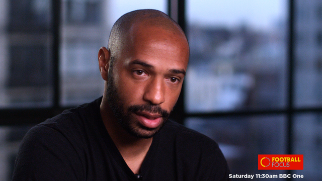 Thierry Henry talks to Football Focus