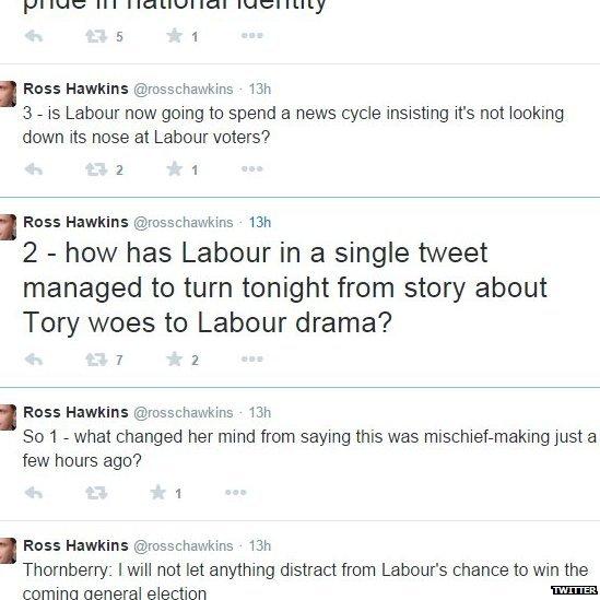 Picture of Ross Hawkins tweet