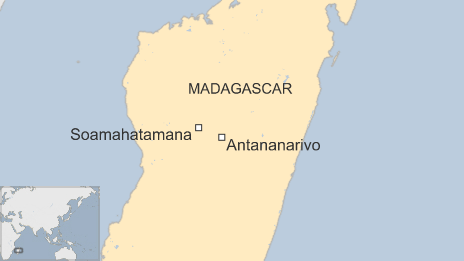 A map of Soamahatamana