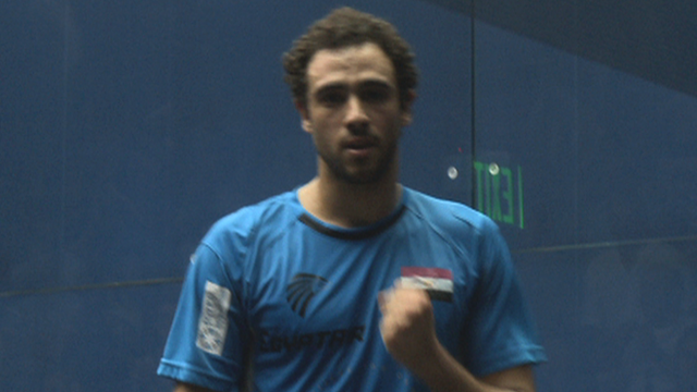 Squash World Championship: Crazy rally between Ashour and Elshorbagy