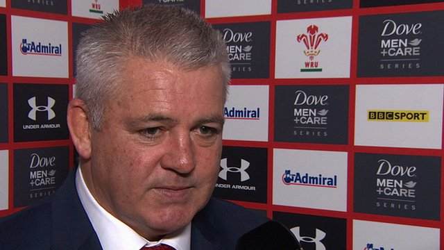 Gatland 'proud' of Wales in defeat