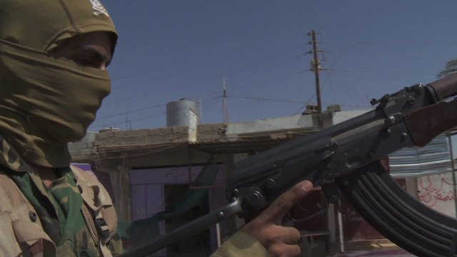 Fighter in northern Iraq