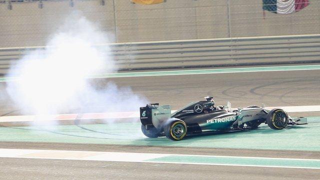 Abu Dhabi GP: Lewis Hamilton's Championship-winning moment