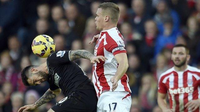 Stoke City defender Ryan Shawcross