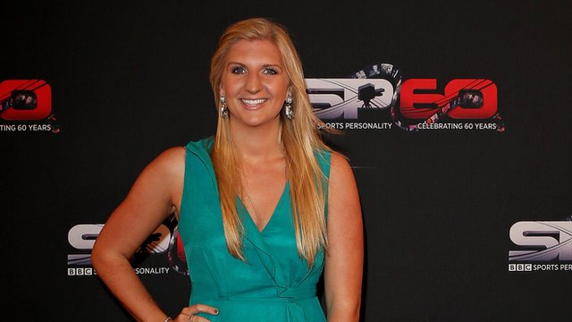 Rebecca Adlington sits on the Sports Personality judging panel