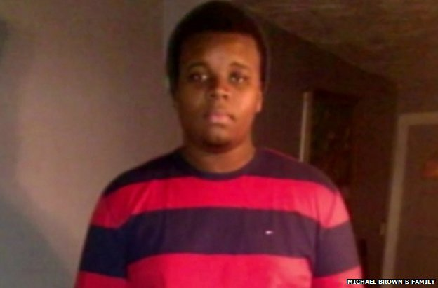 A family snapshot of Michael Brown