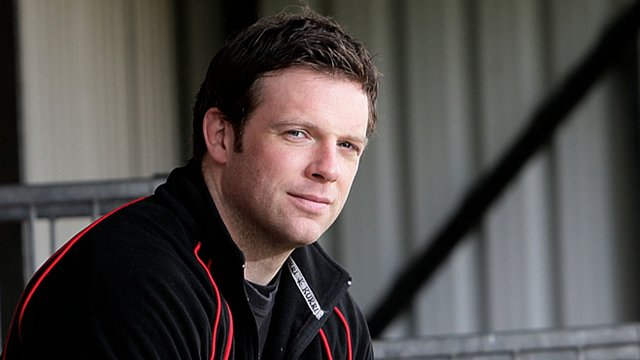 Ulster team manager Bryn Cunningham