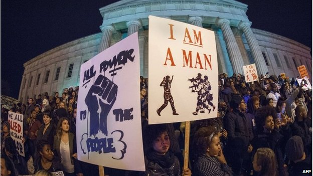 Protesters in Washington, DC