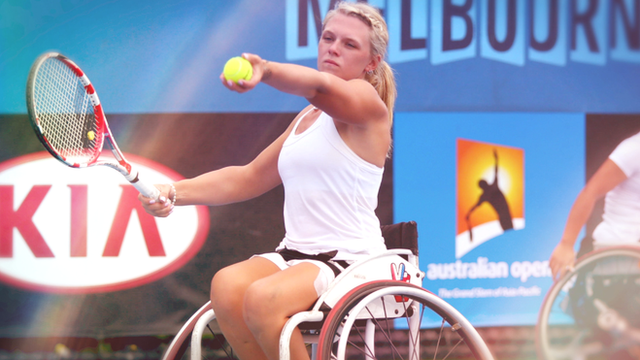 Wimbledon champion Jordanne Whiley's 'year to remember'