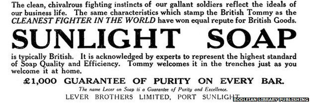 Sunlight Soap ad text