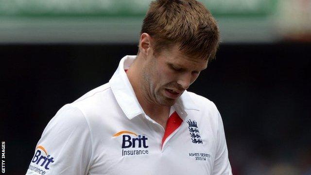 Warwickshire and England fast bowler Boyd Rankin
