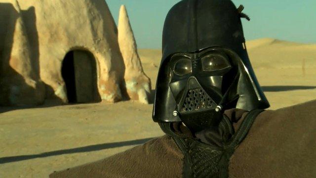 Mos Espa, the childhood home of Darth Vader