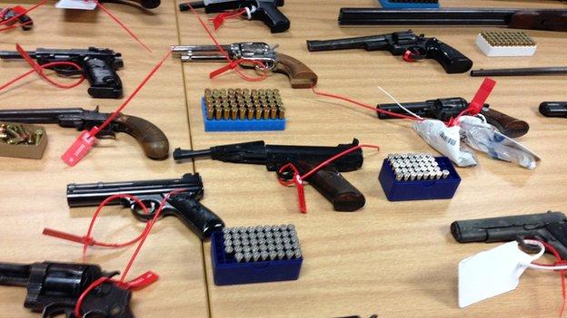 Merseyside Police amnesty guns