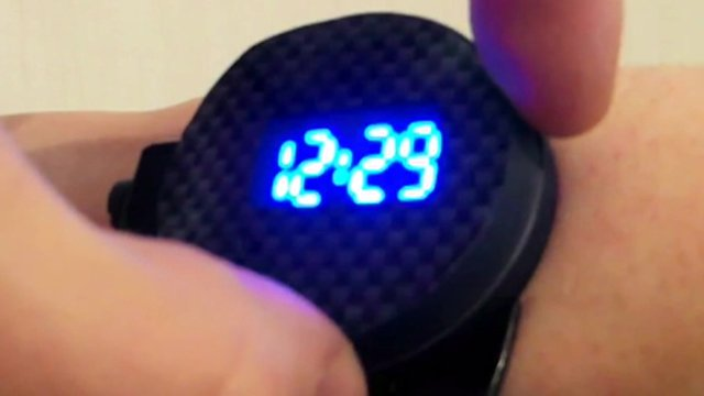 Laser watch