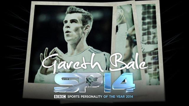 Real Madrid and Wales footballer Gareth Bale