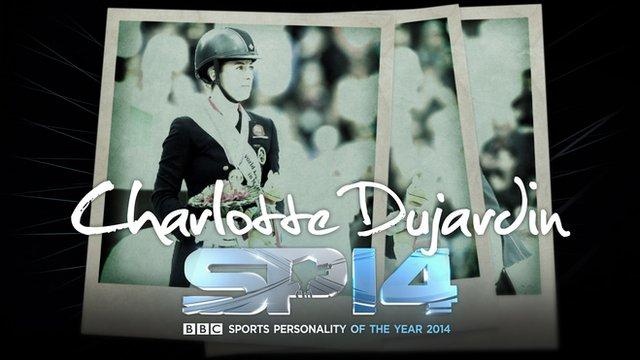 Olympic champion Charlotte Dujardin