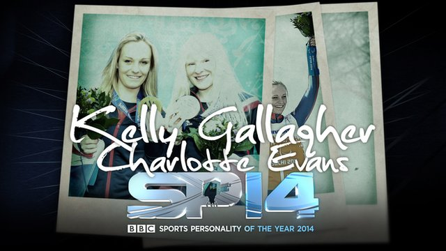 Visually-impaired skier Kelly Gallagher