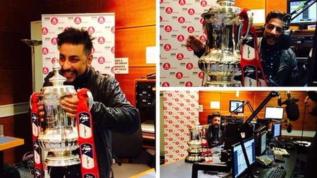 The FA Cup visits the Asian Network
