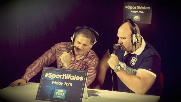 Peter Rogers and Craig Quinnell