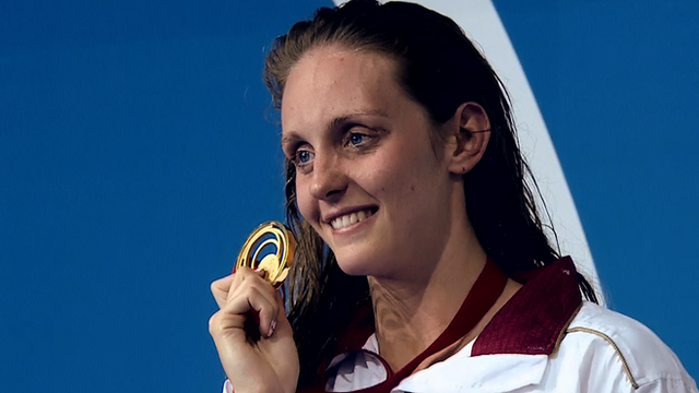 Commonwealth and European swimming champion Fran Halsall is one of many GB success stories this year