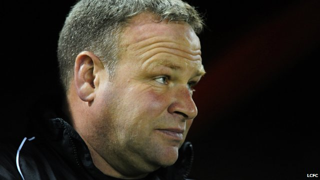 Lincoln City manager Chris Moyses