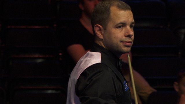 Barry Hawkins at the UK Snooker Championships
