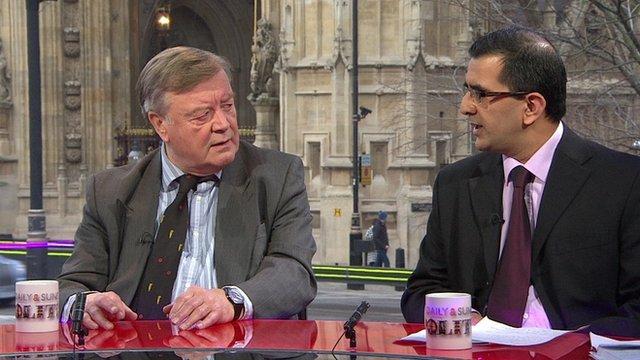 Ken Clarke and Dr Bob Gill