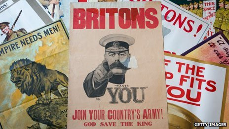 WW1 recruitment posters