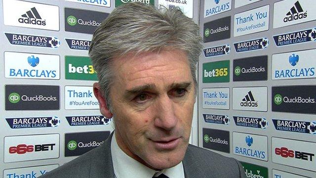 West Brom 1-2 West Ham: Alan Irvine says team were too nervous