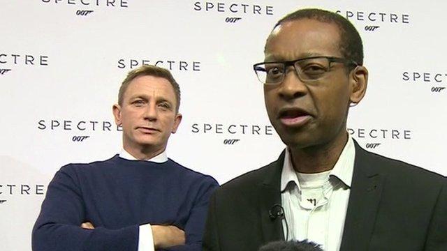 Daniel Craig and Lizo Mzimba