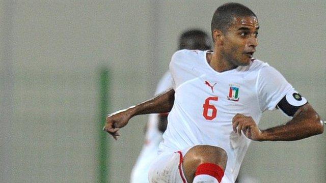 Equatorial Guinea captain Juvenal